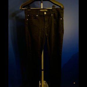 Express Jeans - Express Jeans black Legging mid rise 6 short